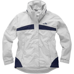 Gill Women's In31 Inshore Lite Jacket Sky Blue/graphite 10, Women's Boating Inshore FWG Tops