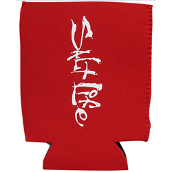 Salt Life Signature Can Koozie Red, Boat Drink Holders