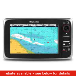 Raymarine C Series C95 Network Multi Function Display With Wireless Capability 9'' Screen Europe Coastal Charts, Network Displays for Boats & Yachts