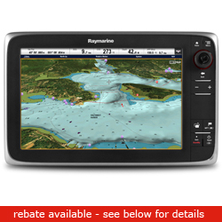 Raymarine C Series C125 Network Multi Function Display With Wireless Capability 12 1'' Screen No Chart, Network Displays for Boats & Yachts