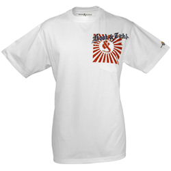 Hook & Tackle Men's Rising Tide Short Sleeve Tech Tee White, Men's Boating Graphic Performance Long-Sleeve Tees