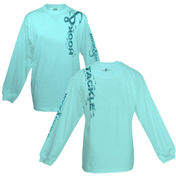 Hook & Tackle Men's Over The Top Long Sleeve Tech Tee White, Men's Boating Graphic Performance Long-Sleeve Tees