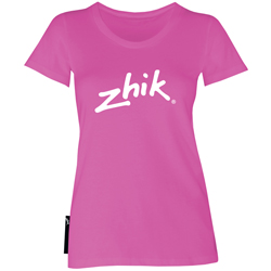 Zhik Women's Short Sleeve Logo Tee White Xl, Women's Boating Graphic Short-Sleeve Tees