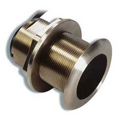 Garmin Airmar B60 Tilted (12) 200/50khz Bronze Thru Hull Transducer (8 Pin), Transducers for Boats & Yachts