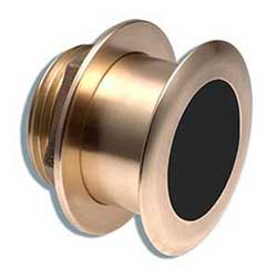 Garmin Bronze Tilted Thru Hull Transducer With Depth & Temperature (12 Tilt 8 Pin) Airmar B164, Transducers for Boats & Yachts