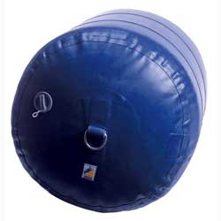 Aere Docking Solutions Heavy Duty Inflatable Fenders Navy Fender Navy 24'' X 42'', Dock Fenders for Boats & Yachts