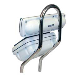 Navpod Angleguards 1'' Single Bend For 9 1/2'' With Pedestals, Electronics Mounts for Boats & Yachts