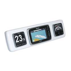 Navpod Sailpod Fits Raymarine E7 System Plus Two Instruments, Electronics Mounts for Boats & Yachts