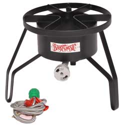 Chesapeake Crabbing Supplies Crab Cooker Burner 125 000 Btu, Crab & Lobster Traps for Boats & Yachts