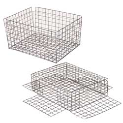 Chesapeake Crabbing Supplies Jumbo Crab Trap Vinyl Coated Trap Vinyl Box, Crab & Lobster Traps for Boats & Yachts
