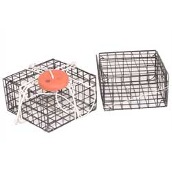 Chesapeake Crabbing Supplies Crab Trap Vinyl Box Regular, Crab & Lobster Traps for Boats & Yachts