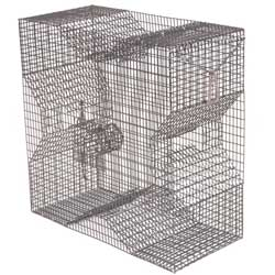 Chesapeake Crabbing Supplies Two Throat And Four Vinyl Fish/bait Trap, Crab & Lobster Traps for Boats & Yachts