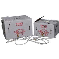 Chesapeake Crabbing Supplies Trotline 600' Or 1200' With Snoods, Crab & Lobster Traps for Boats & Yachts