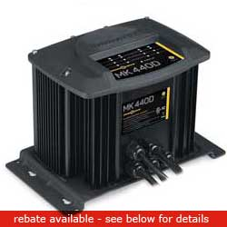 Minn Kota Mk440d Battery Charger (4 Bank), Fishing Trolling Motor Accessories for Boats & Yachts