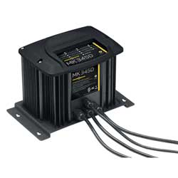 Minn Kota Mk345d Battery Charger (3 Bank), Fishing Trolling Motor Accessories for Boats & Yachts