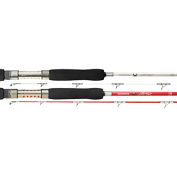 Shimano Saltwater Teresz Casting Rods 6'6 Hvy X Fast Pearl White 50 150 Powerpro Rating, Baitcasting Fishing Rods for Boats & Yachts