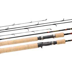 Daiwa Spin matic Ultralight Pack Rod Smc664ulfs Ul F 6'6''l 2 6lb Line Weight 8 Guides Pieces, Spinning Fishing Rods for Boats & Yachts