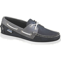 Sebago Women's Spinnaker Boat Shoes Navy/lagoon 9 5m, Women's Boating Moccasins