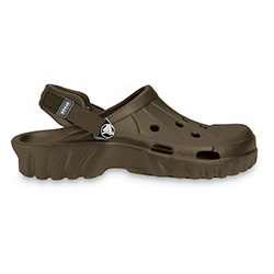 Crocs Men's Off Road Clog Chocolate 13, Men's Boating Sandals