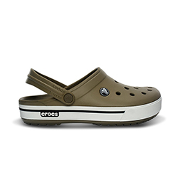 Crocs Men's Crocband Ii 5 Clog Espresso 4, Men's Boating Sandals