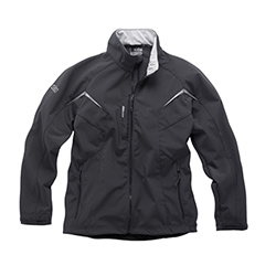 Gill Men's Softshell Jacket Graphite Xl, Men's Boating Inshore FWG Tops