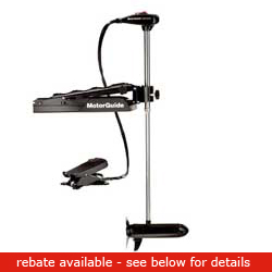 Motorguide Tr82l Fb Tour Edition Freshwater Bow Mount Trolling Motor 82lbs Thrust 45'' Shaft 24v, Fishing Bow-Mount Trolling Motors for Boats & Yachts