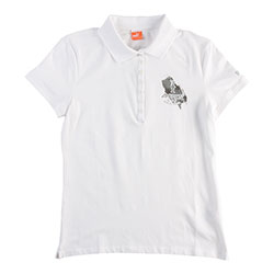 Puma Women's America's Cup Polo White Xl, Women's Boating Knit Short-Sleeve Shirts