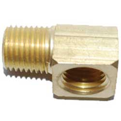 West Marine Tank Vent Elbow Fittings 1/4'' M, Fuel Lines & Accessories for Boats & Yachts for Boats & Yachts