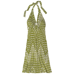 Tommy Bahama Women's Tambour Crocodile Rock Ring Dress Palm Green Xl, Women's Boating Short Dresses