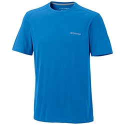 Columbia Men's Sweat Threat Crew Tee Mountain, Boaing Men's Knit Performance Short-Sleeve Shirts