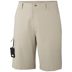Columbia Men's Grander Marlin Offshore Shorts Cool Grey 38, Men's Boating Technical Constructed Shorts