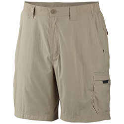 Columbia Men's Blood And Guts Ii Shorts Fossil 40, Men's Boating Technical Constructed Shorts