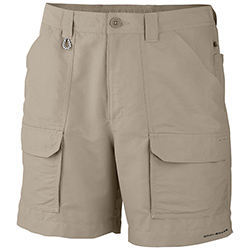 Columbia Men's Permit Ii 6'' Shorts Black 36, Men's Boating Technical Constructed Shorts
