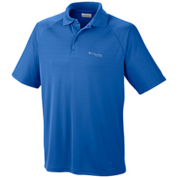 Columbia Men's Terminal Tackle Short Sleeve Polo Cool Grey, Men's Boating Performance Polo Shirts