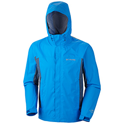 Columbia Men's Trail Turner Shell Jacket Hyper Blue Xl, Men's Boating Casual Jackets