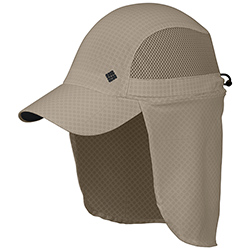 Columbia Coolhead Cachalot Hat Fossil, Boating Technical Hats