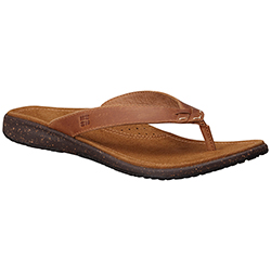 Columbia Women's Tilly Jane Flip Flops Elk 6, Women's Boating Sandals