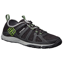 Columbia Men's Liquifly Shoes Black/green 8, Men's Boating Technical Shoes