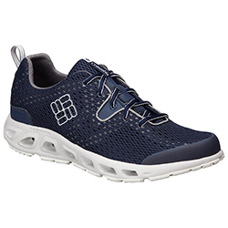 Columbia Men's Drainmaker Ii Pfg Shoes Navy/charcoal 8 5, Men's Boating Technical Shoes