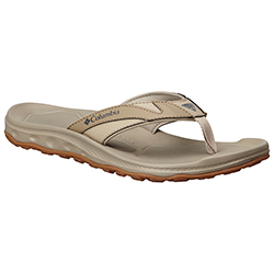 Columbia Men's Techsun Flip 3 Pfg Sandals Tan 12, Men's Boating Sandals