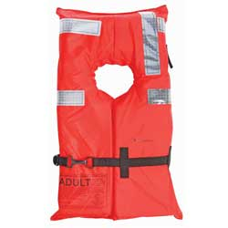 West Marine Type I Commercial Life Jacket Adult Weight Under 90 Lb 11lb Buoyancy, Commercial Life Jackets for Boats & Yachts