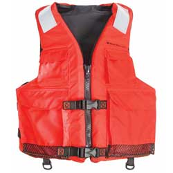 West Marine Type Iii 4 Pocket Work Vest S/m, Commercial Life Jackets for Boats & Yachts