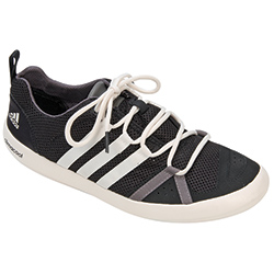 Adidas Men's Climacool Boat Lace Shoes Black/white/grey 10 5, Men's Boating Technical Shoes
