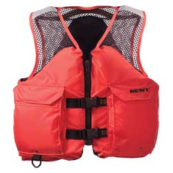 Kent Deluxe Commercial Mesh Life Vest 3xl Chest Size 52'' 56'', Commercial Life Jackets for Boats & Yachts