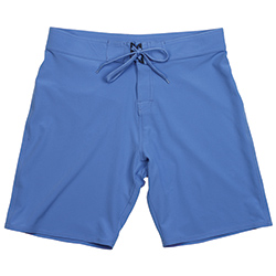 West Marine Men's Ocean Solid Board Shorts Medieval Blue 36, Men's Boating Board Shorts
