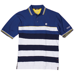 West Marine Men's Crew Stripe Polo Medieval Xl, Men's Boating Polo Shirts