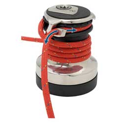 Selden #30 Two Speed Reversible Winch, Self-Tailing Winches for Boats & Yachts