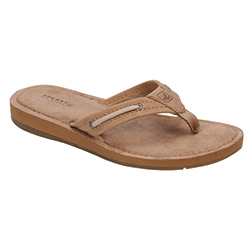 Sperry Top Sider Women's Riverside Sandals Linen 7, Women's Boating Flip Flops