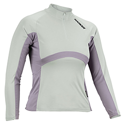Harken Women's Upf50  Uv Long Sleeve Shirt Ice/lilac Xl, Women's Boating Knit Performance Long-Sleeve Shirts