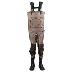 Hodgman Men's Pipestone Nonslip Chest Waders Brown 8, Men's Boating Boots
